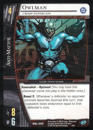 Owlman, Crime Syndicate