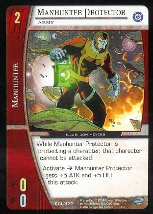 Manhunter Protector, Army