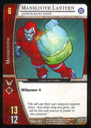 Manhunter Lantern, Power Ring Thief