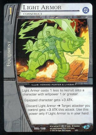 Light Armor, Construct