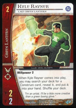 Kyle Rayner, Last Green Lantern