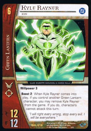 Kyle Rayner, Ion