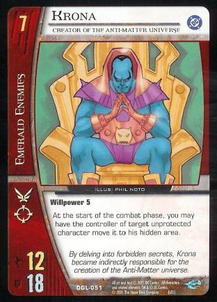 Krona, Creator of the Anti-Matter Universe