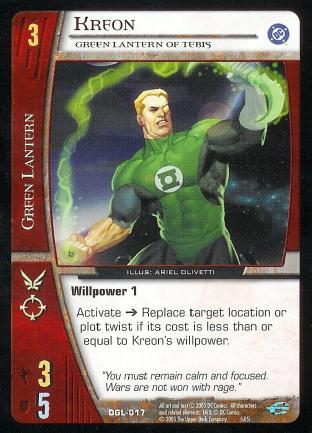 Kreon, Green Lantern of Tebis