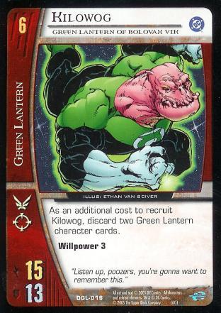 Kilowog, Green Lantern of Bolovax Vik
