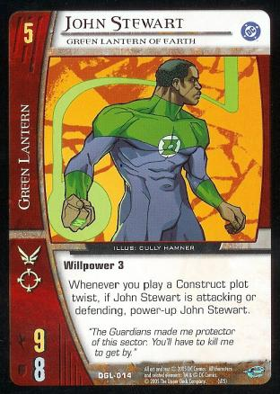 John Stewart, Green Lantern of Earth