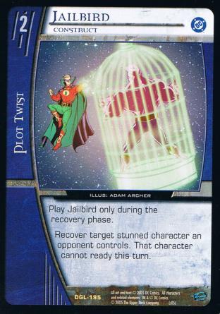 Jailbird, Construct