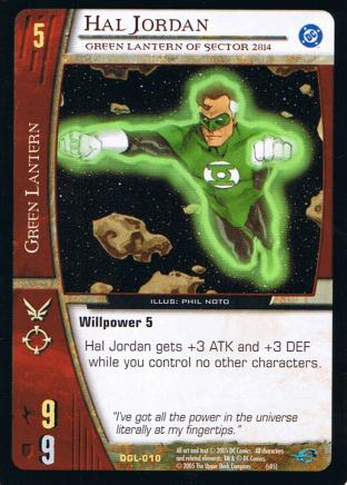Hal Jordan, Green Lantern of Sector 2814