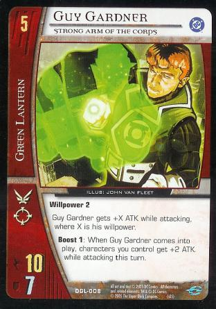 Guy Gardner, Strong Arm of the Corps