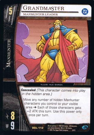 Grandmaster, Manhunter Leader