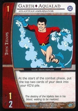 Garth - Aqualad, Atlantean Ambassador