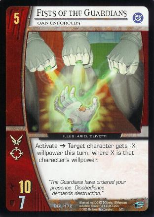 Fists of the Guardians, Oan Enforcers