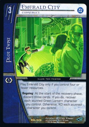 Emerald City, Construct
