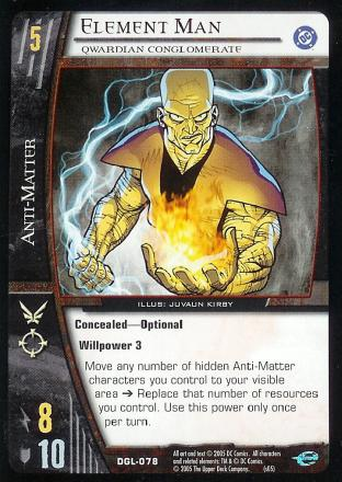 Element Man, Qwardian Conglomerate