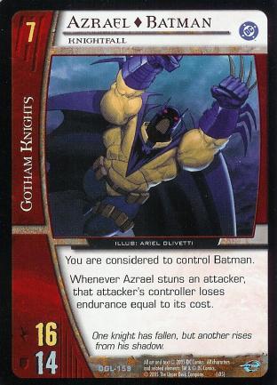 Azrael - Batman, Knightfall