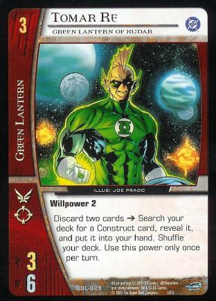 Tomar Re, Green Lantern of Xudar