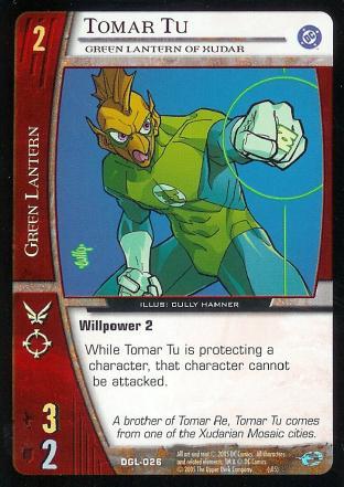 Tomar Tu, Green Lantern of Xudar