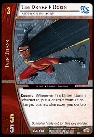 Tim Drake  Robin, Sidekick No More