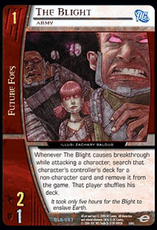 The Blight, Army
