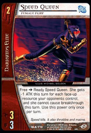 Speed Queen, Female Fury