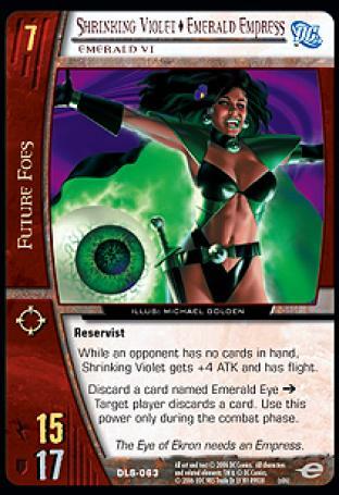 Shrinking Violet  Emerald Empress, Emerald Vi