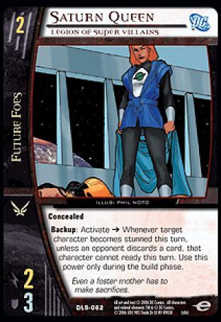 Saturn Queen, Legion of Super Villains