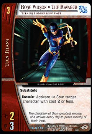Rose Wilson  The Ravager, Titans Tomorrow East