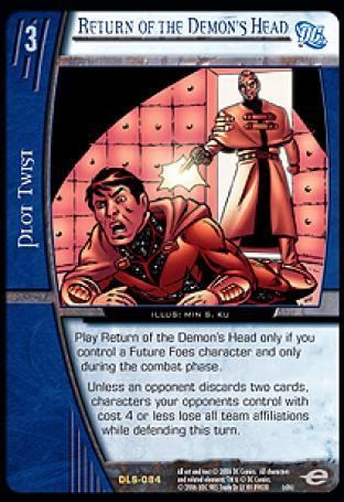 Return of the Demon's Head