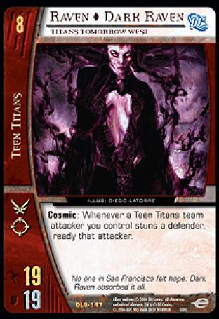Raven  Dark Raven, Titans Tomorrow West
