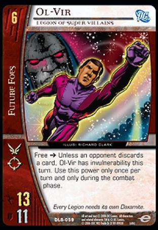Ol-Vir, Legion of Super Villains