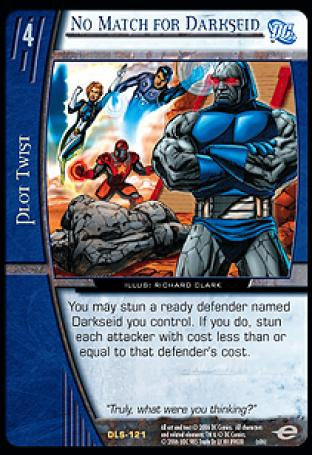 No Match for Darkseid