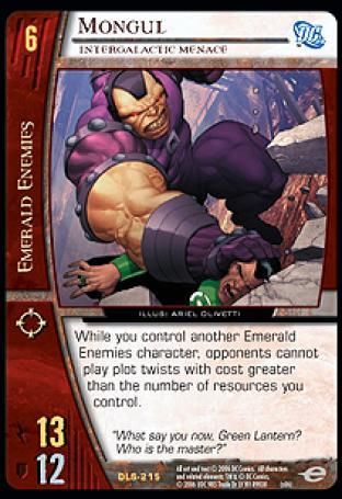 Mongul, Intergalactic Menace