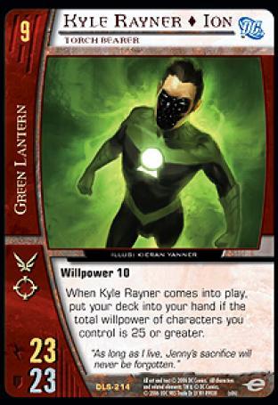 Kyle Rayner  Ion, Torch Bearer