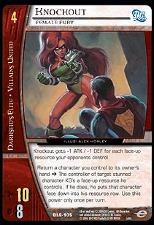 Knockout, Female Fury