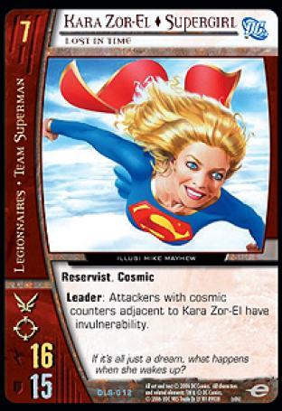 Kara Zor-El  Supergirl, Lost in Time