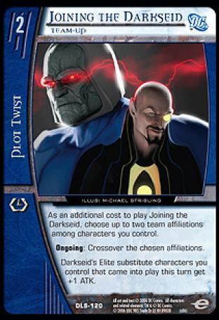 Joining the Darkseid, Team-Up