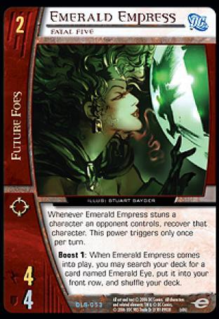Emerald Empress, Fatal Five