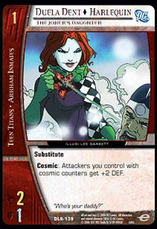 Duela Dent  Harlequin, The Joker's Daughter