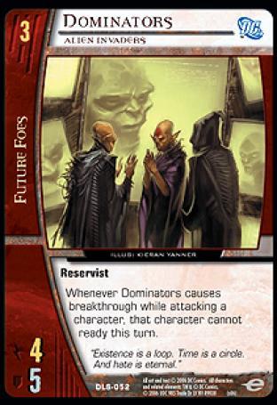 Dominators, Alien Invaders
