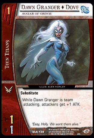 Dawn Granger  Dove, Avatar of Order