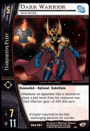 Dark Warrior, Mockery