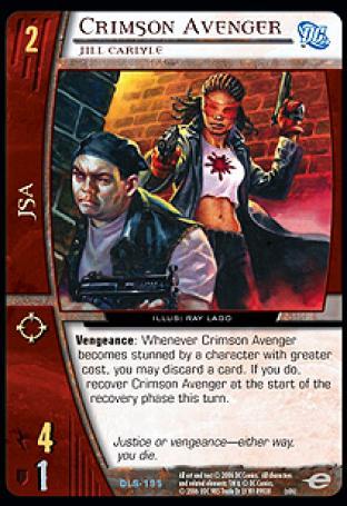 Crimson Avenger, Jill Carlyle