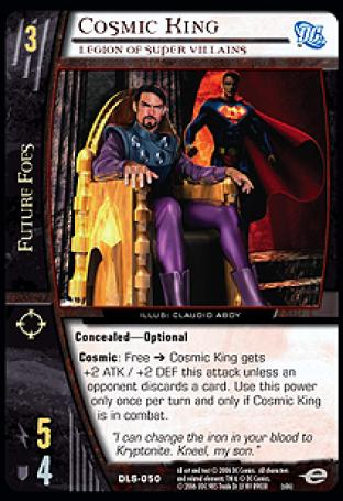 Cosmic King, Legion of Super Villains