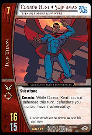 Connor Kent  Superman, Titans Tomorrow West