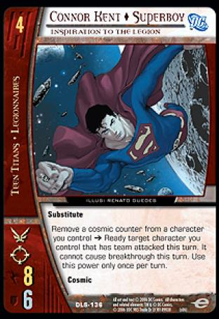 Connor Kent  Superboy, Inspiration to the Legion