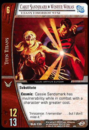 Cassie Sandsmark  Wonder Woman, Titans Tomorrow West
