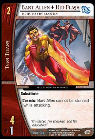 Bart Allen  Kid Flash, Heir to the Mantle
