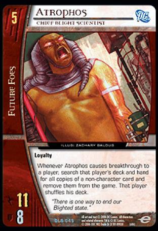Atrophos, Chief Blight Scientist