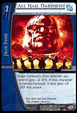 All Hail Darkseid!