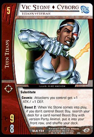 Vic Stone  Cyborg, Titans Veteran